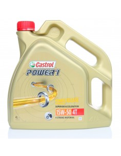 LATA CASTROL POWER 1 4T 15W-50 4L