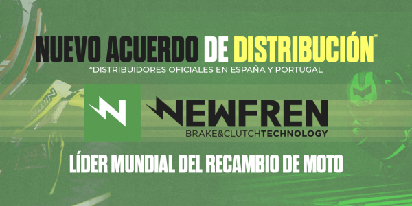 NUEVO ACUERDO DE DISTRIBUCION DE PRODUCTOS NEWFREM